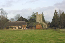 church viewed from Forton